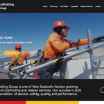 NZ Scaffolding Group Website